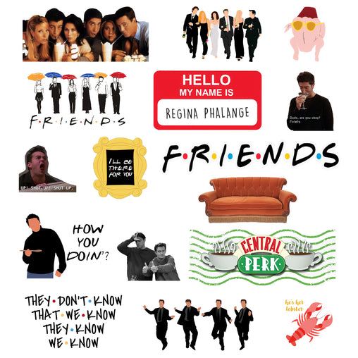 Lex Altern Stickers Set Friends