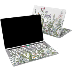 Lex Altern Vinyl MacBook Skin Wild Flowers for your Laptop Apple Macbook.