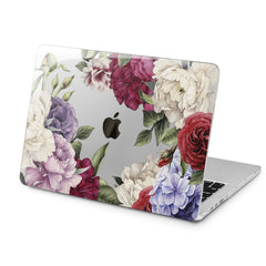Lex Altern Colorful Flowers Art Case for your Laptop Apple Macbook.