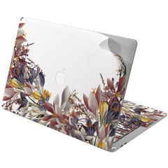 Lex Altern Vinyl MacBook Skin Crocus Flowers