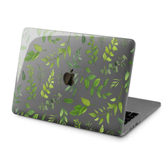 Lex Altern Hard Plastic MacBook Case Leaf Design Print