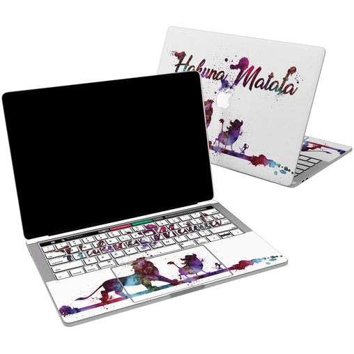 Lex Altern Vinyl MacBook Skin Hakuna Matata for your Laptop Apple Macbook.