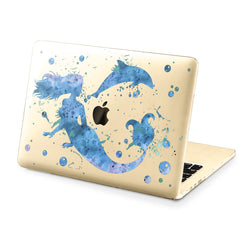 Lex Altern Hard Plastic MacBook Case Mermaid Figure