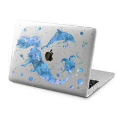 Lex Altern Mermaid Figure Case for your Laptop Apple Macbook.