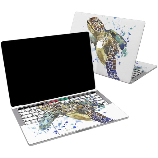 Lex Altern Vinyl MacBook Skin Turtle Watercolor for your Laptop Apple Macbook.