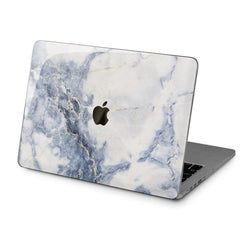 Lex Altern Hard Plastic MacBook Case Grey Marble Print