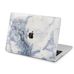 Lex Altern Grey Marble Print Case for your Laptop Apple Macbook.