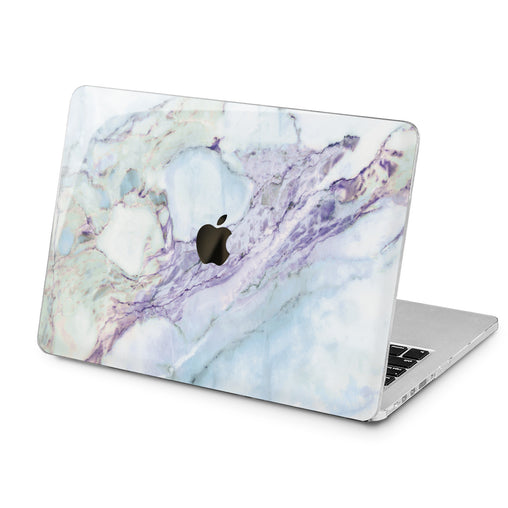 Lex Altern Blue Marble Design Case for your Laptop Apple Macbook.