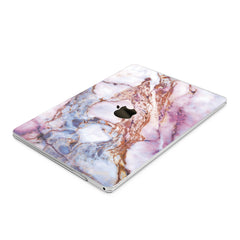 Lex Altern Hard Plastic MacBook Case Colored Marble Design