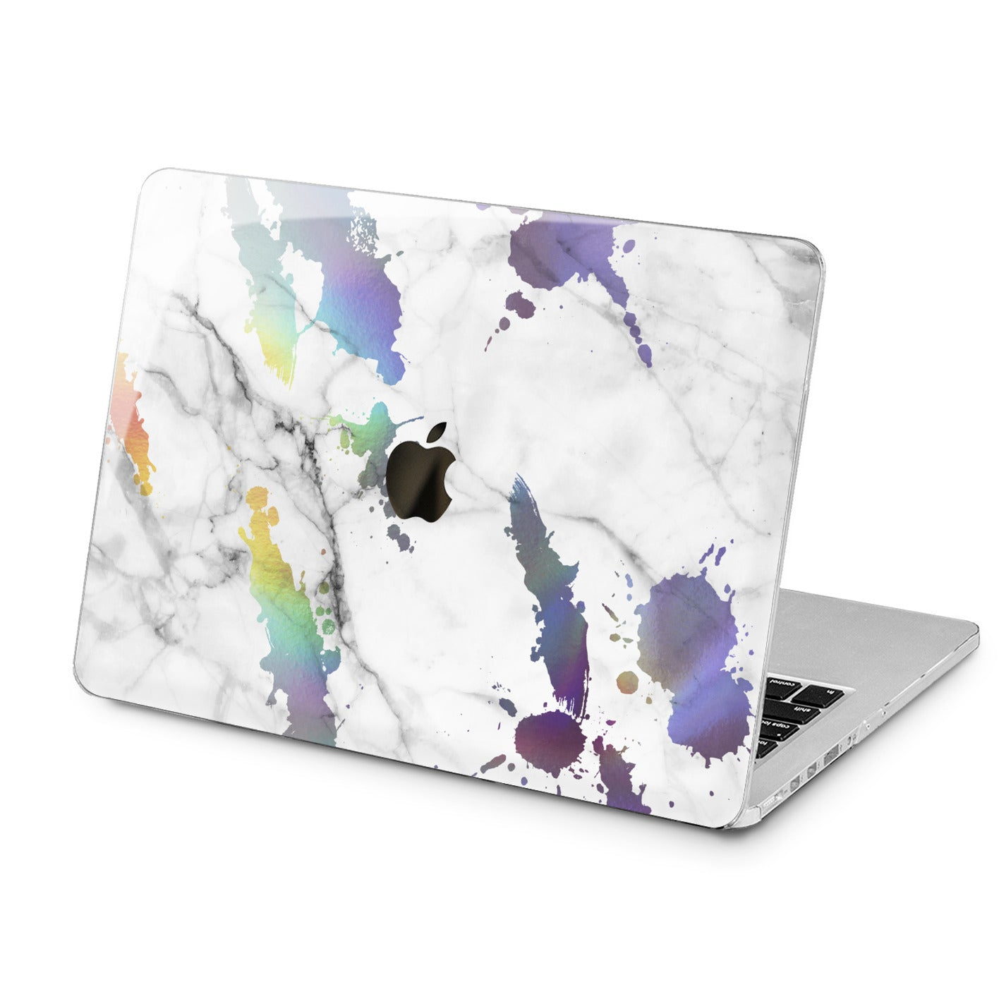 Lex Altern Rainbow Marble Case for your Laptop Apple Macbook.