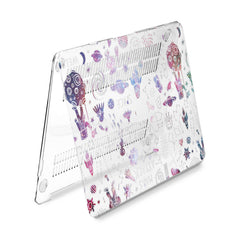 Lex Altern Hard Plastic MacBook Case Space Pattern