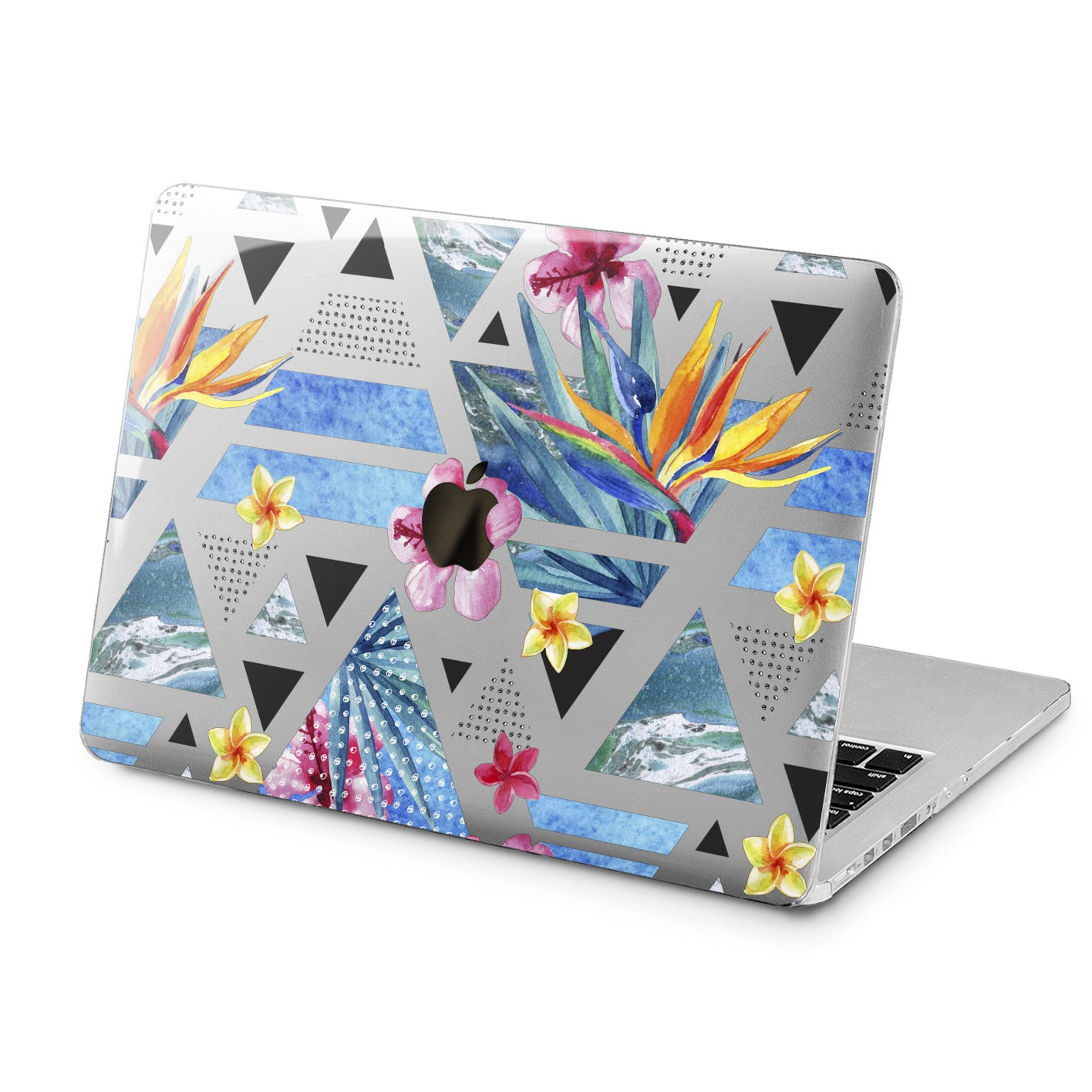 Lex Altern Tropical Geometry Art Case for your Laptop Apple Macbook.