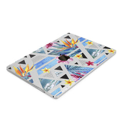 Lex Altern Hard Plastic MacBook Case Tropical Geometry Art