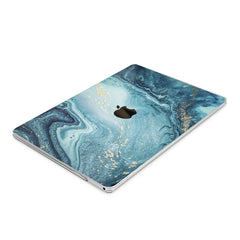 Lex Altern Hard Plastic MacBook Case Blue Paint Art