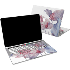 Lex Altern Vinyl MacBook Skin Tender Pink Lotuses for your Laptop Apple Macbook.