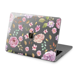 Lex Altern Hard Plastic MacBook Case Pink Roses Style