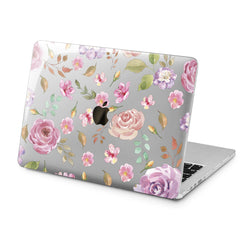 Lex Altern Pink Roses Style Case for your Laptop Apple Macbook.