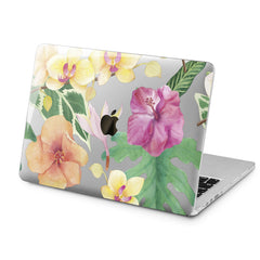Lex Altern Colorful Flowers Design Case for your Laptop Apple Macbook.