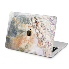 Lex Altern Grey Marble Art Case for your Laptop Apple Macbook.