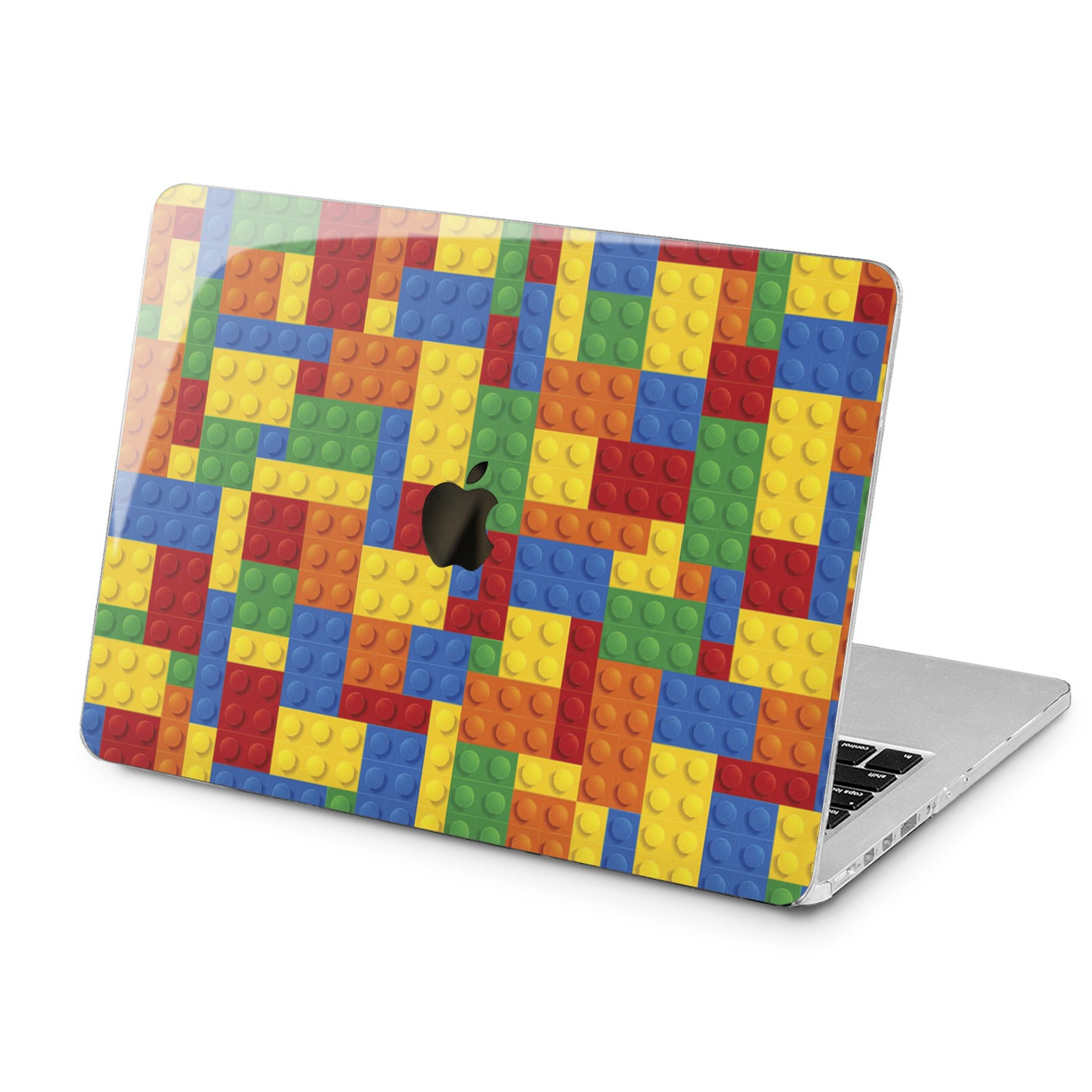 Lex Altern Colorful Lego Pattern Case for your Laptop Apple Macbook.