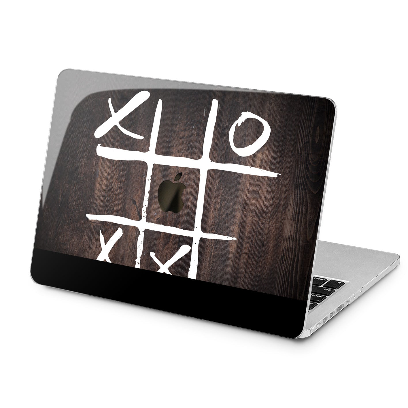 Lex Altern Tic Tac Toe Pattern Case for your Laptop Apple Macbook.