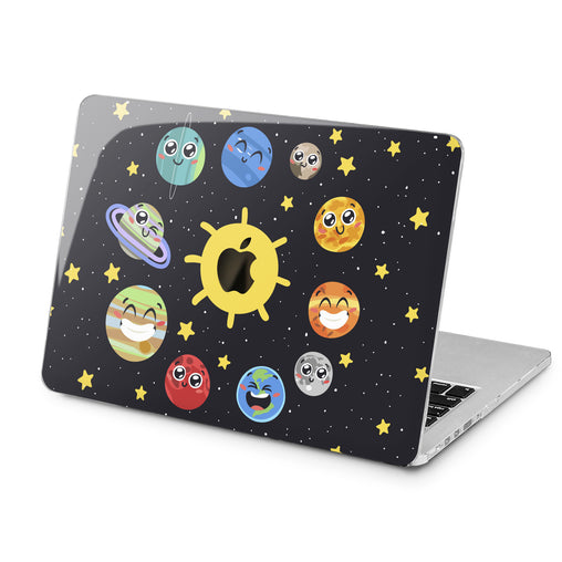 Lex Altern Funny Solar System Case for your Laptop Apple Macbook.