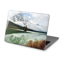 Lex Altern Hard Plastic MacBook Case Mountain Lake Design