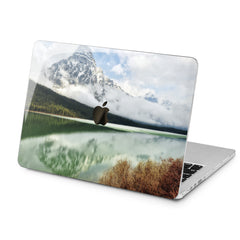 Lex Altern Mountain Lake Design Case for your Laptop Apple Macbook.
