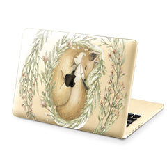 Lex Altern Hard Plastic MacBook Case Cute Fox Design