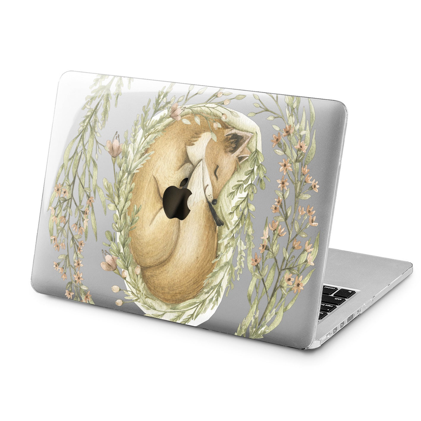 Lex Altern Cute Fox Design Case for your Laptop Apple Macbook.