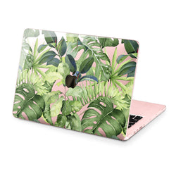 Lex Altern Hard Plastic MacBook Case Green Plants Design