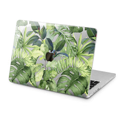 Lex Altern Green Plants Design Case for your Laptop Apple Macbook.