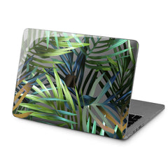 Lex Altern Hard Plastic MacBook Case Leaf Print Art