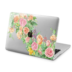 Lex Altern Gentel Roses Case for your Laptop Apple Macbook.