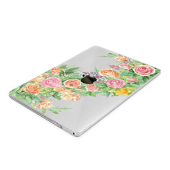 Lex Altern Hard Plastic MacBook Case Gentel Roses