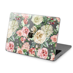 Lex Altern Hard Plastic MacBook Case White Roses Art