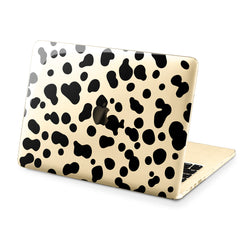 Lex Altern Hard Plastic MacBook Case Cow Pattern Print