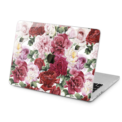 Lex Altern Colorful Flowers Print Case for your Laptop Apple Macbook.