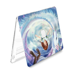 Lex Altern Hard Plastic MacBook Case Magic Haku