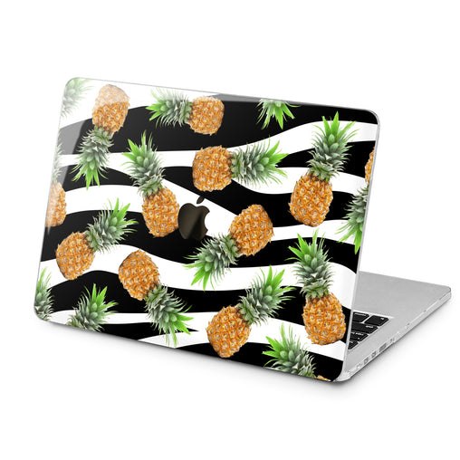 Lex Altern Pineapple Art Pattern Case for your Laptop Apple Macbook.