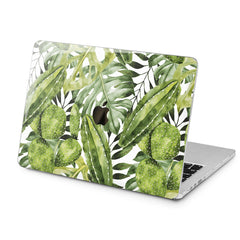 Lex Altern Green Plants Print Case for your Laptop Apple Macbook.