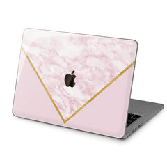 Lex Altern Hard Plastic MacBook Case Triangle Marble Art