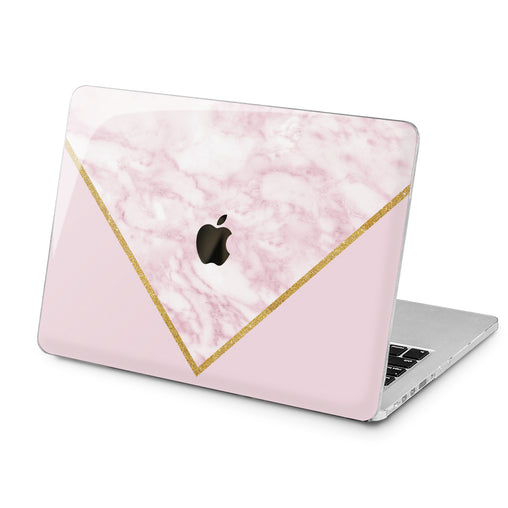 Lex Altern Triangle Marble Art Case for your Laptop Apple Macbook.