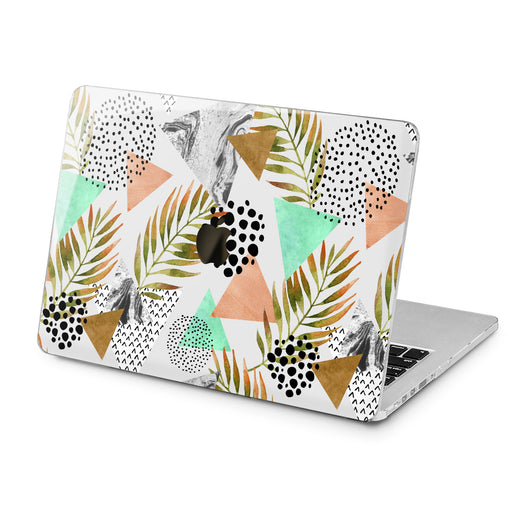 Lex Altern Tropical Geometry Print Case for your Laptop Apple Macbook.