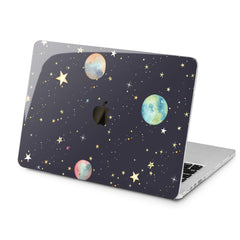 Lex Altern Cute Planets Art Case for your Laptop Apple Macbook.