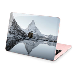 Lex Altern Hard Plastic MacBook Case Snowy Mountains Print