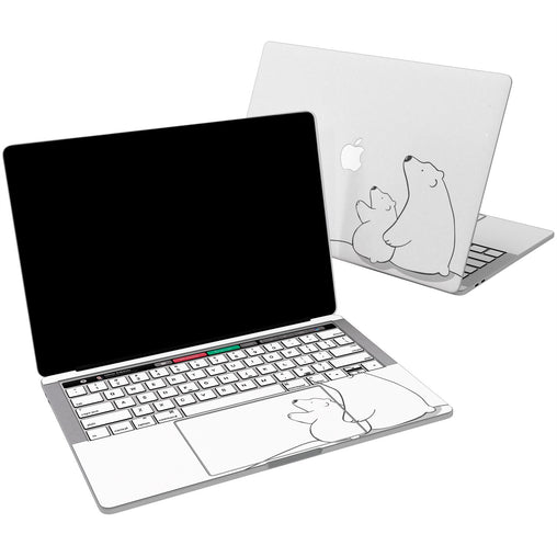 Lex Altern Vinyl MacBook Skin Polar Bears for your Laptop Apple Macbook.