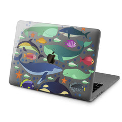 Lex Altern Hard Plastic MacBook Case Ocean Life Style