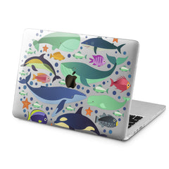 Lex Altern Ocean Life Style Case for your Laptop Apple Macbook.