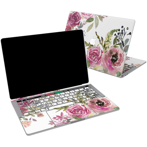 Lex Altern Vinyl MacBook Skin Rose Boossom for your Laptop Apple Macbook.